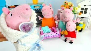 Свинка Пеппа и рождение Джорджа