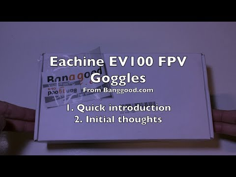 Unbox and Quick introduction to EV100
