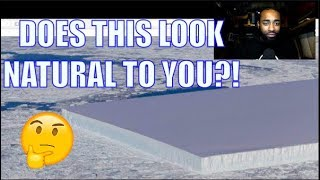NASA FINDS RECTANGULAR ICEBERG IN ANTARCTICA?!