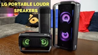 LG XBOOM Go PK3, PK5, PK7 Portable Speakers Review!