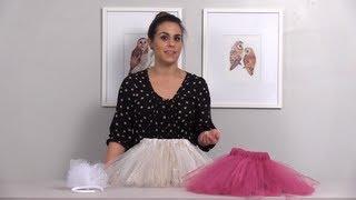 How To Make A No Sew Tutu For A Flower Girl: Wedding DIY