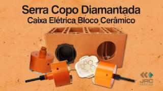 Como Furar Bloco Estrutural Cerâmico para Caixa Elétrica Redonda JRC Diamantados