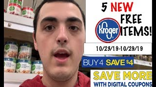 5 NEW KROGER FREEBIES (+ LOTS OF OTHER DEALS!)--10/23/19-10/29/19