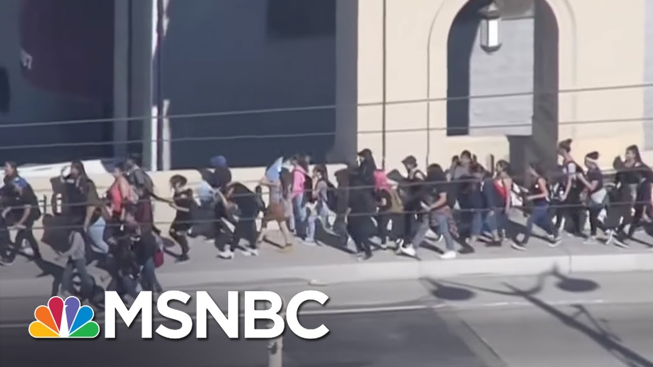 Los Angeles Students Walk Out Over Donald Trump Win | MSNBC thumbnail