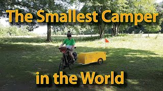 The Smallest camper in the world - the Bériault Bicycle Camper