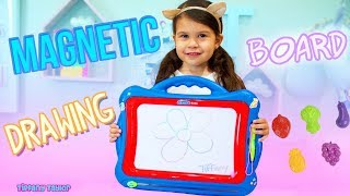 Best NextX Kids Magnetic Drawing Board Unboxing Toy Review