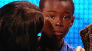 9 Year Old Boy Cries During Audition - Then Amazes Everyone