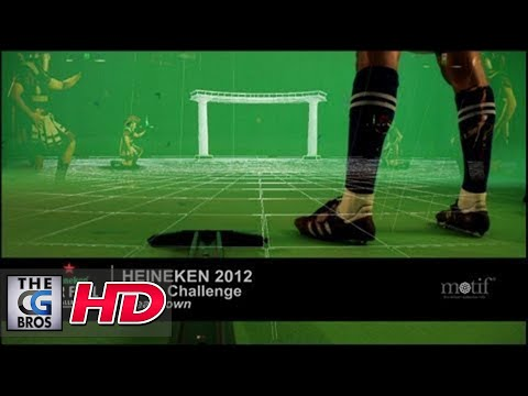 "CGI VFX Breakdowns : ""Heineken 2012 UEFA Challenge"" by Motif Studios"