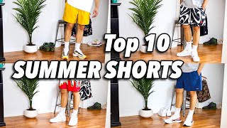 TOP 10 BEST SUMMER SHORTS TO WEAR WITH SNEAKERS!