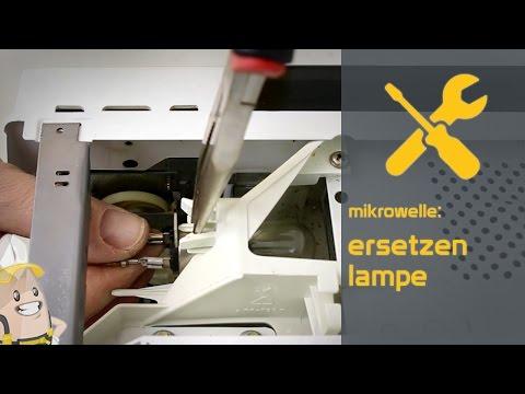 Ersetzen der Lampe Ihrer Mikrowelle | Das Ersatzteilecenter.de Verfahren