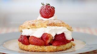 Strawberry Shortcake - Gemma's Bigger Bolder Baking Ep 11 - Gemma Stafford Recipe