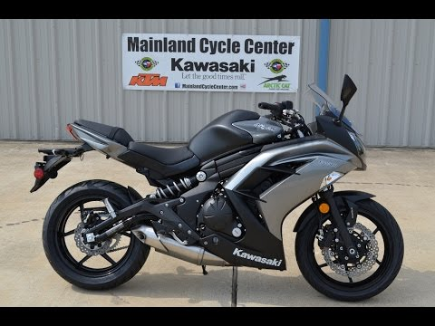 $6,899: 2014 Kawasaki Ninja 650 ABS Gray Overview and Review