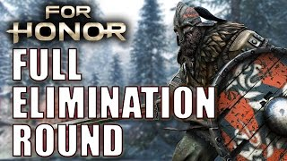 For Honor - Full Round of Elimination Gameplay
