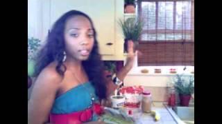 Diva's Healthy Strawberry Banana Smoothie Recipe