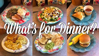 What's For Dinner?| Easy & Budget Friendly Family Meal Ideas| July 1-7, 2019