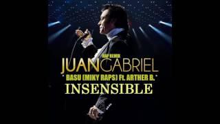 Insensible Juan Gabriel Rap Remix By Miky Raps (Basu) Ft Arther B (Cover)