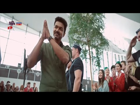 Download Thalapathi Vijay Recent Blockbuster movie Ultimate Airport Scene | Super Hit Scene | Cinema Time | Mp4 HD Video and MP3