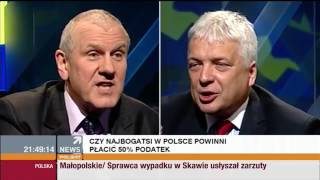 Jan Guz vs Robert Gwiazdowski – Jest podatek czy nie jest? Klasyk polskiego systemu podatkowego