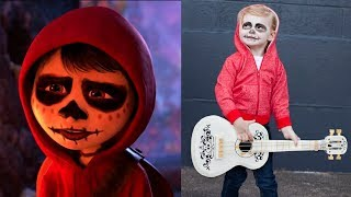 Coco Cartoon Characters In Real Life