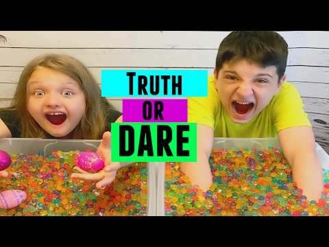 Orbeez TRUTH Or DARE Challenge | Kid Friendly Challenges | Fun And Crazy  Kids