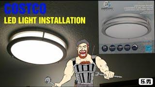 Energetic COSCO L.E.D Light Installation