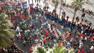 preview picture of video 'Salida Mitja Marató Santa Pola 2015'