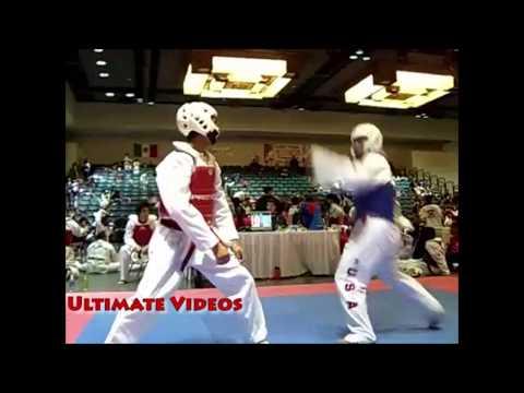 I migliori knockout del taekwondo. Un calcio e sei al tappeto.