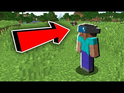 MINECRAFT IN VIRTUAL REALITY!