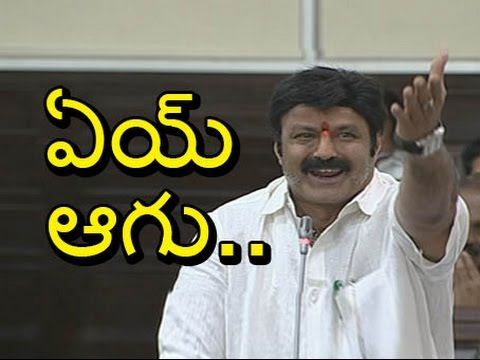 Nandamuri-Balakrishna-Serious-Warning-To-YSRCP-Leaders-AP-Assembly-6TV-12-03-2016