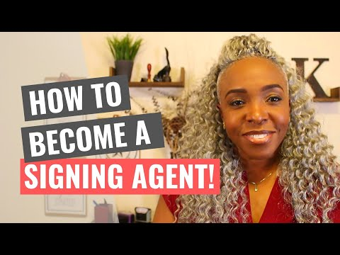 How to Become a Loan Signing Agent!! - YouTube