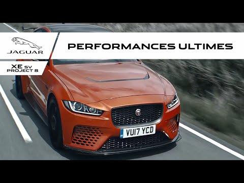 Jaguar XE SV Project 8 | L'esprit de performance extrême