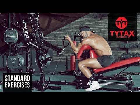 TYTAX® M1   Cable Seated Alternating Preacher Curl