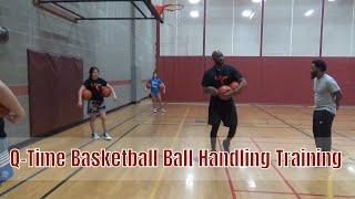 Q-time Basketball Ball Handling Training - Ball Handling Workout