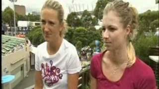 Вика и Мария в финале