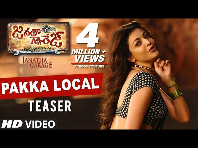 Pakka Local Video Song HD | Janatha Garage Video Songs 2016 | NTR, Samantha