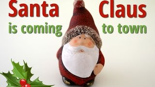 Santa Claus is Coming to Town | Free Christmas Carols (lyrics video for karaoke)