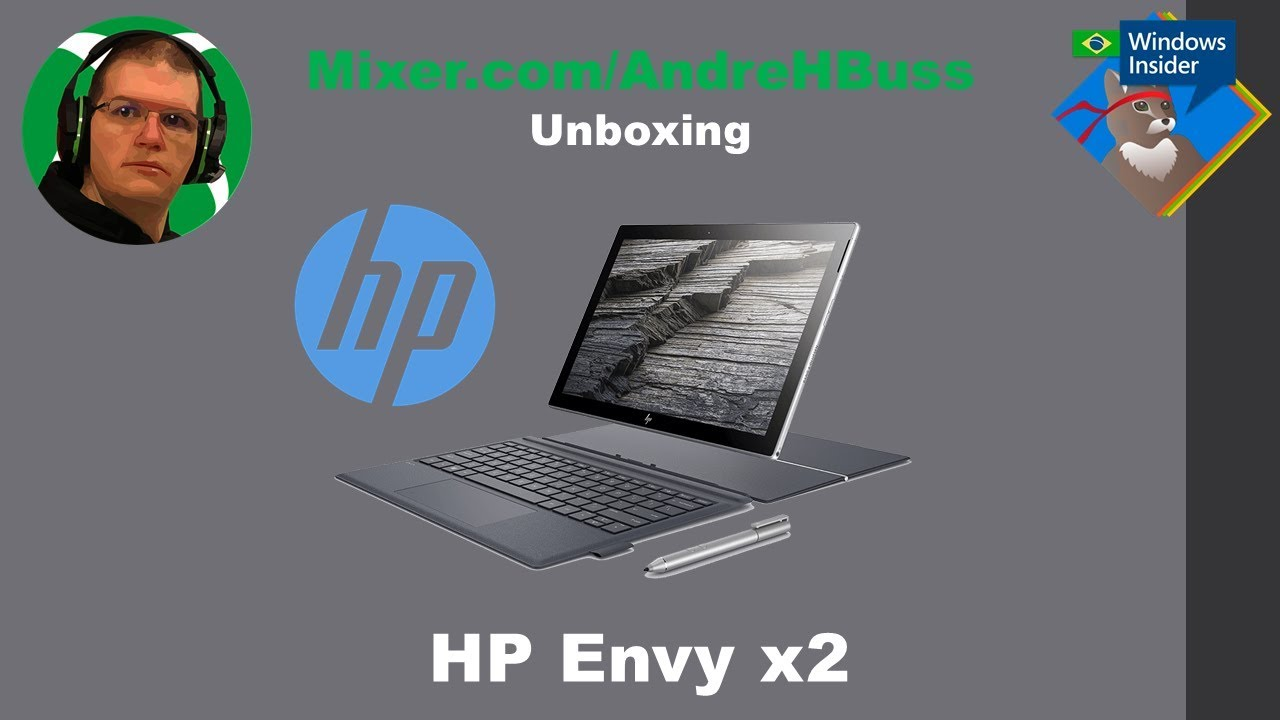 Unboxing HP Envy x2