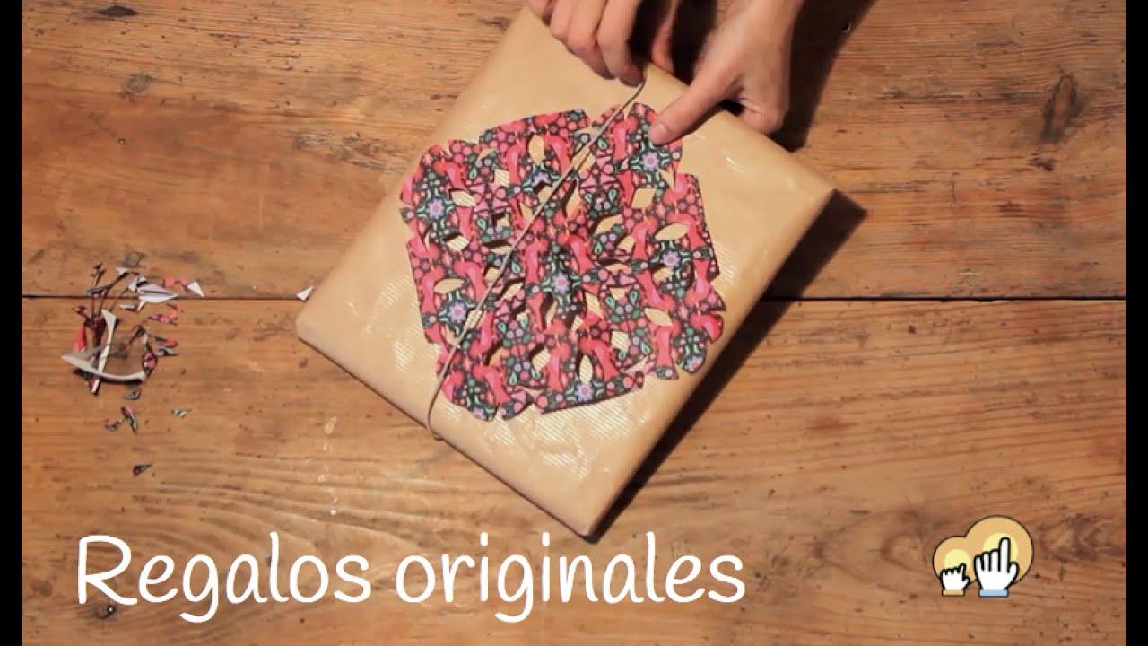 Cómo envolver regalos de forma original y fácil - Manualidades de papel