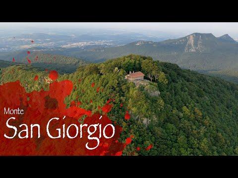Il Monte San Giorgio visto dal drone
