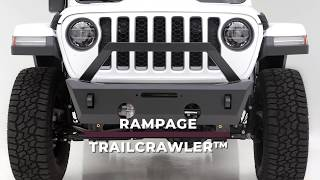 Rampage Products: TrailCrawler™ Aluminum Front Bumper