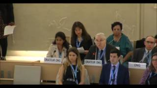 Prof. Gerald Steinberg at the UN Human Rights Council, September 27, 2016