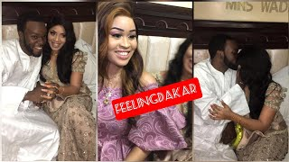 En exclusivité : les images du Mariage de Momo Wade annimateur SEN TV et Ndeye Sokhna