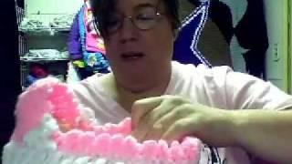 Puppenwiege Häkeln Handarbeit Wolle
