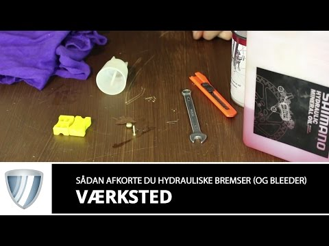 Shimano Bleedingkit. ink. kop og sprøjte video
