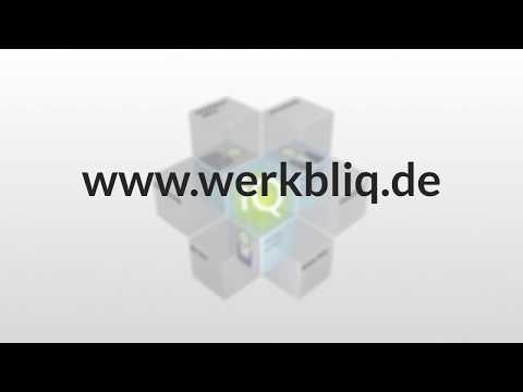 WERKBLiQ - Die neue Intelligenz für Maschineninstandhaltung