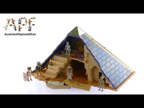 Vidéo PLAYMOBIL History 5386 : Pyramide du pharaon