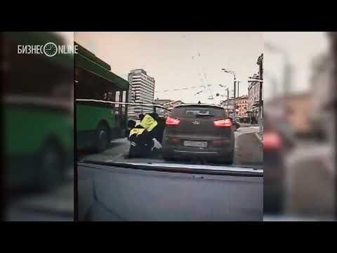 Военный следователь Пилипенко написал заявление на автоинспекторов, сломавших ему в Казани нос