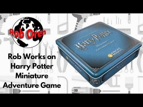 Rob Works On Harry Potter Miniature Adventure Game