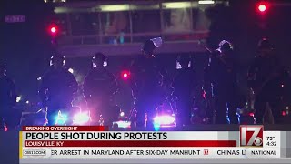At Least 7 Shot During Protests In Louisville, Kentucky