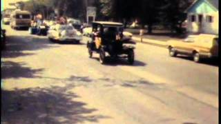 1978 Nipawin Saskatchewan Parade / Deer On Highway